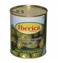 Оливки Iberica гигантские с косточкой 875г