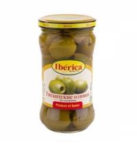 Оливки Iberica гигантские без косточки 340г