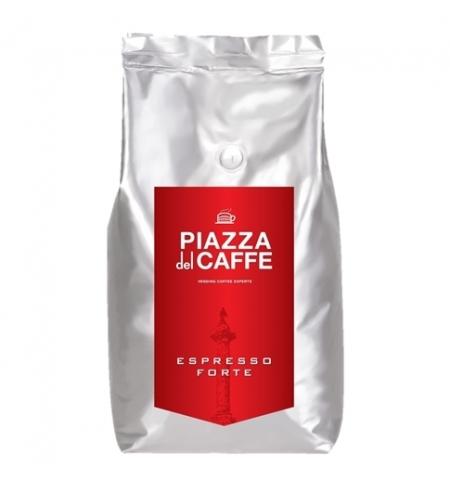 фото: Кофе в зернах Piazza Del Caffe Espresso Forte 1кг пачка