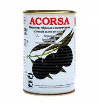 Маслины Acorsa с косточкой 425г