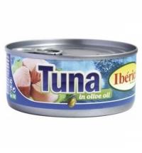 Тунец Iberica в оливковом масле 160г