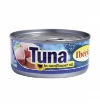 Тунец Iberica в подсолнечном масле 160г