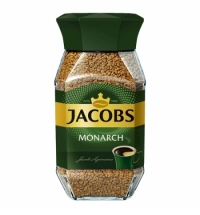 Кофе растворимый Jacobs Monarch 190г стекло