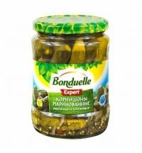 Огурцы Bonduelle маринованные 580г