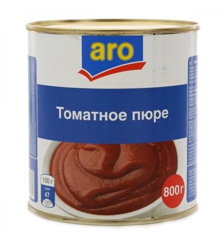 фото: Пюре томатное Aro пюре 800г