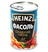 Фасоль Heinz сладкий чили 390г