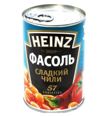 фото: Фасоль Heinz сладкий чили 390г