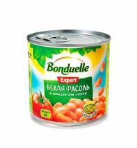 Фасоль Bonduelle белая в томатном соусе 430г