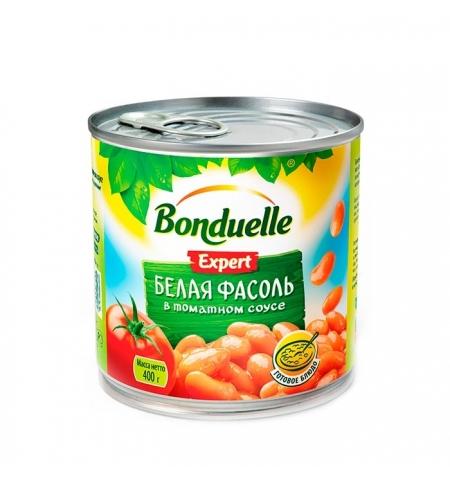 фото: Фасоль Bonduelle белая в томатном соусе 430г