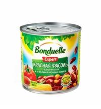 Фасоль Bonduelle красная с кукурузой в томатном соусе 430г