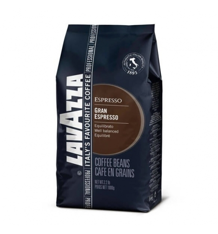 фото: Кофе в зернах Lavazza Professional Grand Espresso 1кг пачка