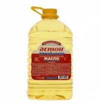 Масло подсолнечное Астон высокоолеиновое рафинированное 5л