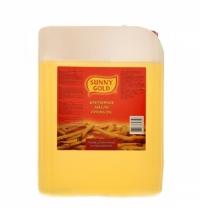 Масло растительное Sunny Gold для фритюра смесь рафинированных масел 10л