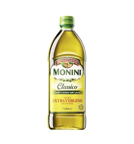 фото: Масло оливковое Monini Extra Virgin нерафинированное 1л