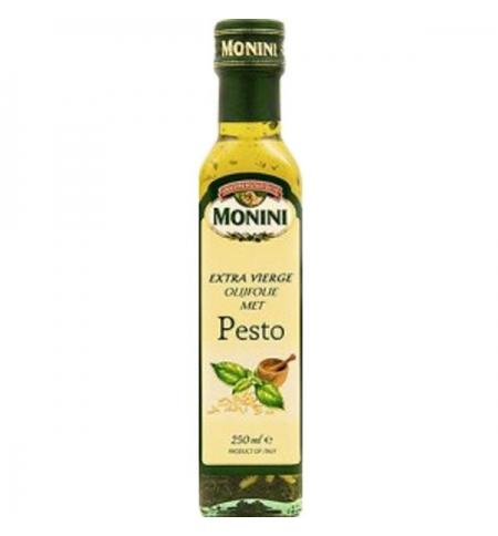 фото: Масло оливковое Monini Extra Virgin нерафинированное песто, 250мл