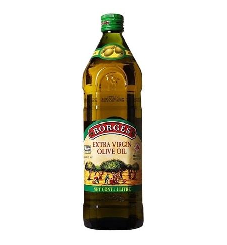 фото: Масло оливковое Borges Extra Virgin нерафинированное 1л