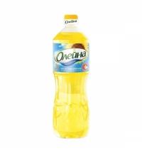 Масло подсолнечное Олейна рафинированное дезодорированное 1л