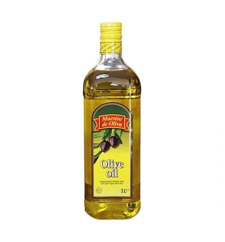 фото: Масло оливковое Maestro De Oliva рафинированное 1л