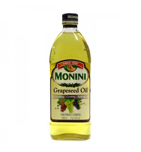 фото: Масло из виноградных косточек Monini рафинированное 1л