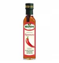 Масло оливковое Monini Extra Virgin нерафинированное с красным перцем, 250мл