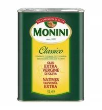 Масло оливковое Monini Extra Virgin нерафинированное 3л
