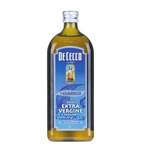 фото: Масло оливковое De Cecco Еxtra virgin 100% нерафинированное 1л