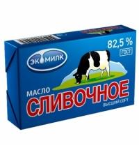Масло сливочное Экомилк 82.5% 180 г