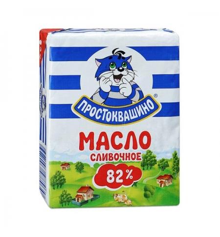 фото: Масло сливочное Простоквашино 82% 180г