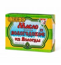 Масло сливочное Из Вологды Вологодское 82.5% 180г