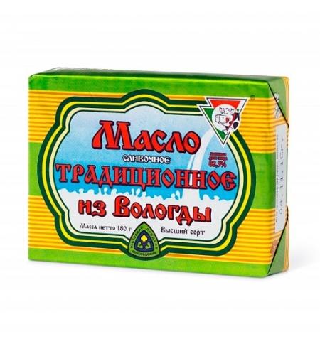 фото: Масло сливочное Из Вологды Традиционное 82.5% 180г