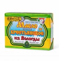 Масло сливочное Из Вологды Крестьянское 72.5% 180г