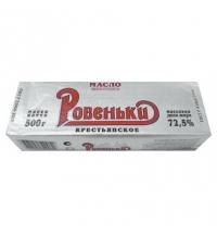 Масло сливочное Ровеньки Крестьянское 72.5% 500г