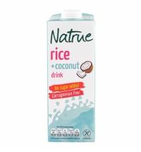 Рисовый напиток Natrue 1.3% с кокосовым молоком, без сахара, 1л