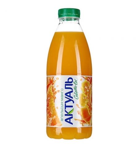 фото: Молочносоковый напиток Актуаль на сыворотке апельсин-манго 930г