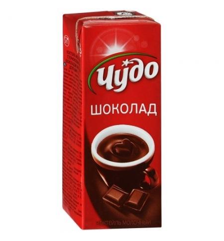 фото: Молочный коктейль Чудо 3% шоколад 200г