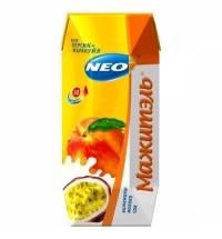 Молочносоковый напиток Мажитэль персик-маракуйя 250г