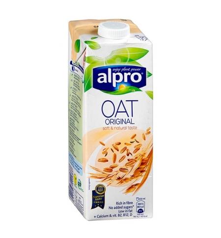 фото: Овсяный напиток Alpro натуральный 1л