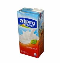 Соевый напиток Alpro 1.8%-2.2% без сахара и соли 1л
