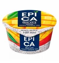 Йогурт Epica манго и семена чиа 5%, 130г