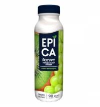 Йогурт питьевой Epica киви-виноград 290г