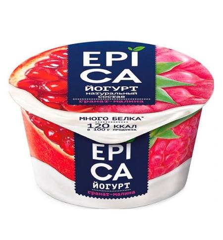 фото: Йогурт Epica гранат-малина 4.8%, 130г