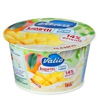 Йогурт Valio Clean Label манго 2.6%, 180г