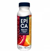 Йогурт питьевой Epica гранат-апельсин 290г