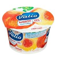 Йогурт Valio Clean Label персик 2.6%, 180г