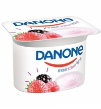 Йогурт Danone лесные ягоды 2.9%, 110г