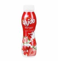 Йогурт питьевой Чудо 2.4% клубника-земляника 270г