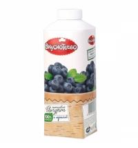 Йогурт питьевой Вкуснотеево черника 750г