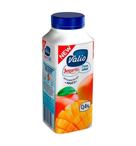фото: Йогурт питьевой Valio 0.4% манго 330г