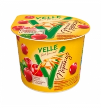 Продукт овсяный Velle перекус с брусникой 140г
