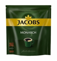 Кофе растворимый Jacobs Monarch 500г пакет